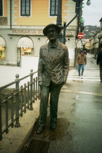 James Joyce in trieste -1