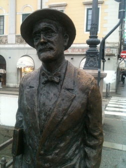James Joyce in trieste -2